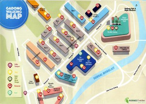 Gadong-Walking-Map